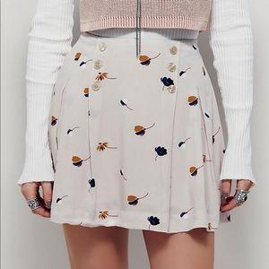 Free people lover's lane mini skirt pink bundle